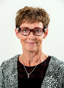 Inge Marie Petersen, sekretær ved Kiropraktisk Klinik Holstebro